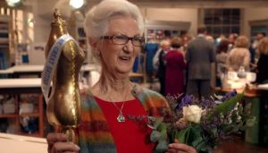 Winner of last year's Great British Sewing Bee, Ann Rowley