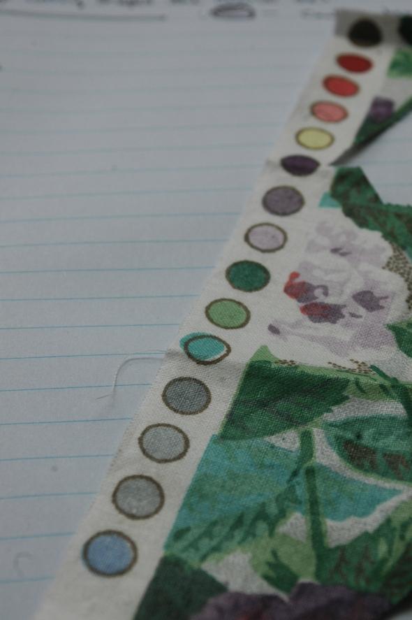 Selvedge colour range
